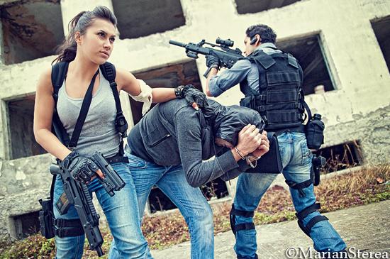 Sedinta foto cu arme