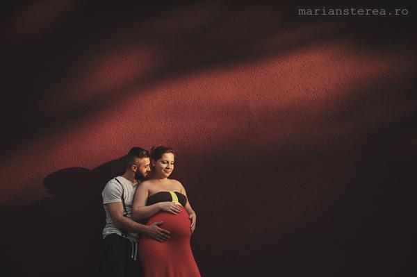 sedinta foto gravida lorelei si marius