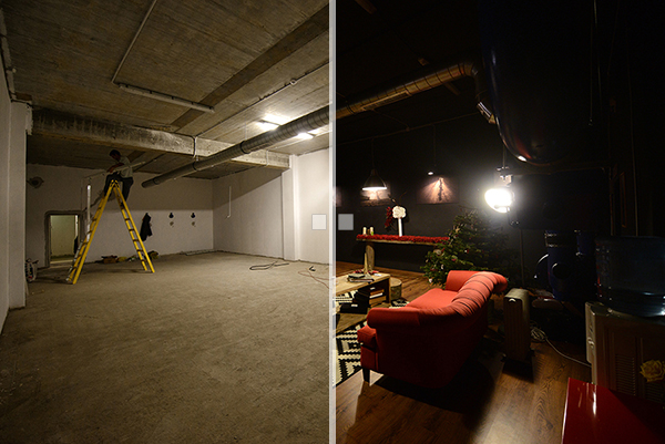 studio foto before and after