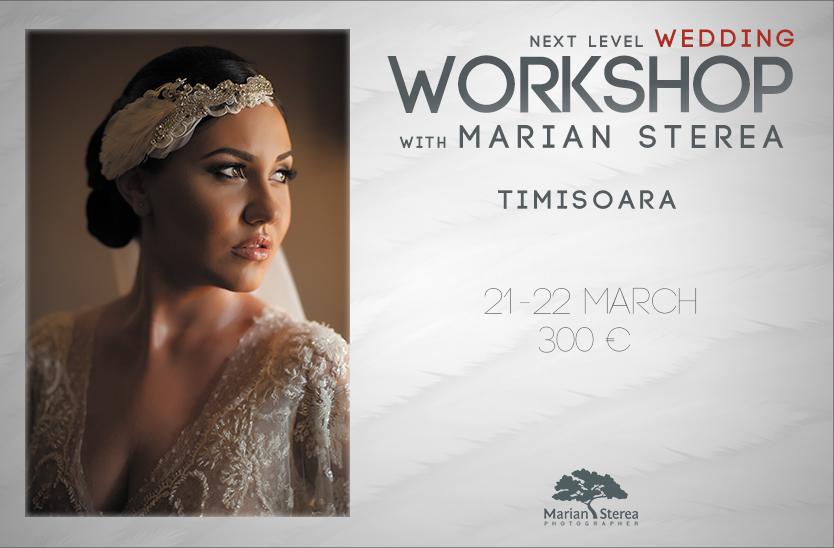 Primul workshop de fotografie de nunta - Timisoara 2015
