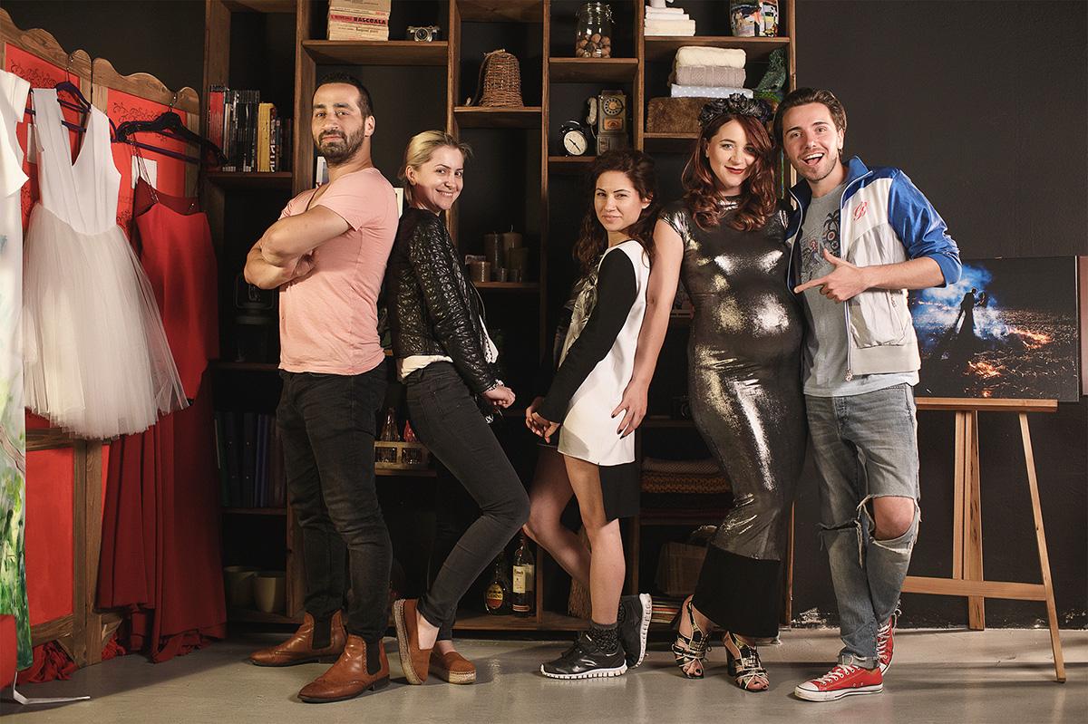 fashion team making of