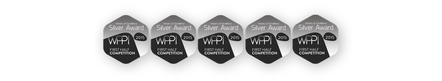 WPPI silver awards badge
