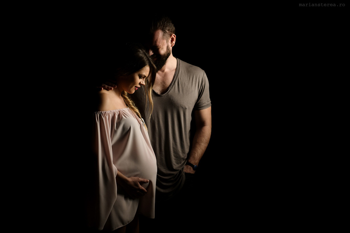 studio sedinta foto de gravida