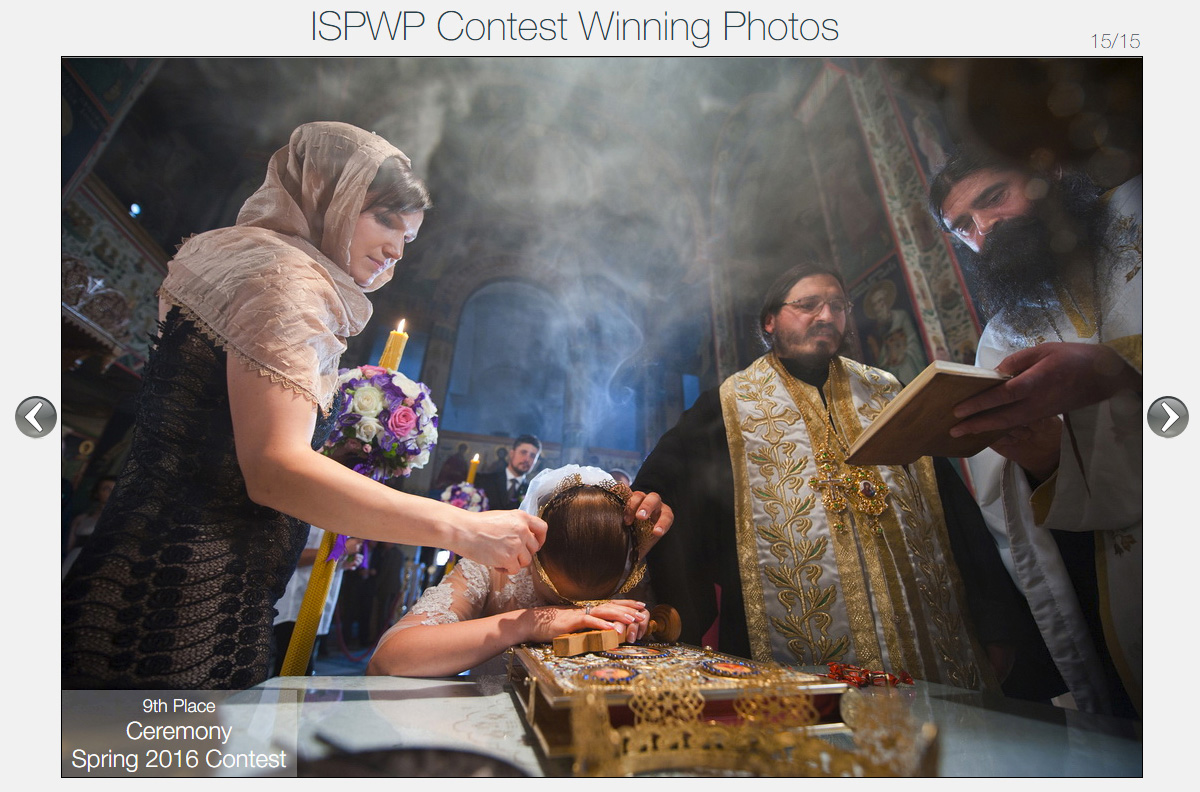 Top 20 spring contest winner ISPWP 2016