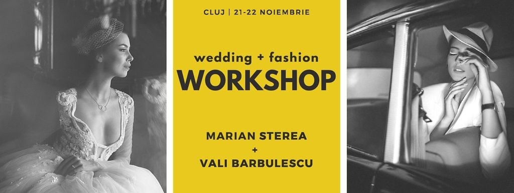 wedding and fashion - cLuj editioin workshop