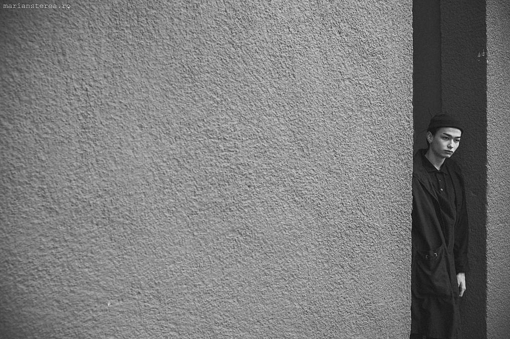 Fotografie model minimalist