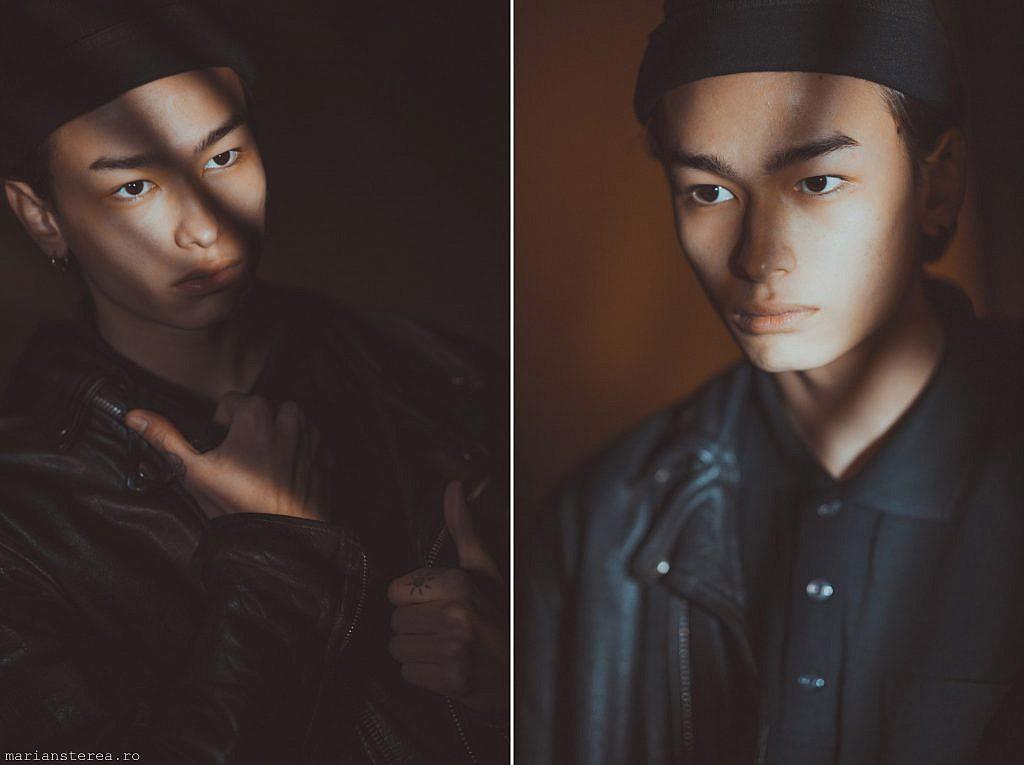 Portret in studioul foto Marian Sterea