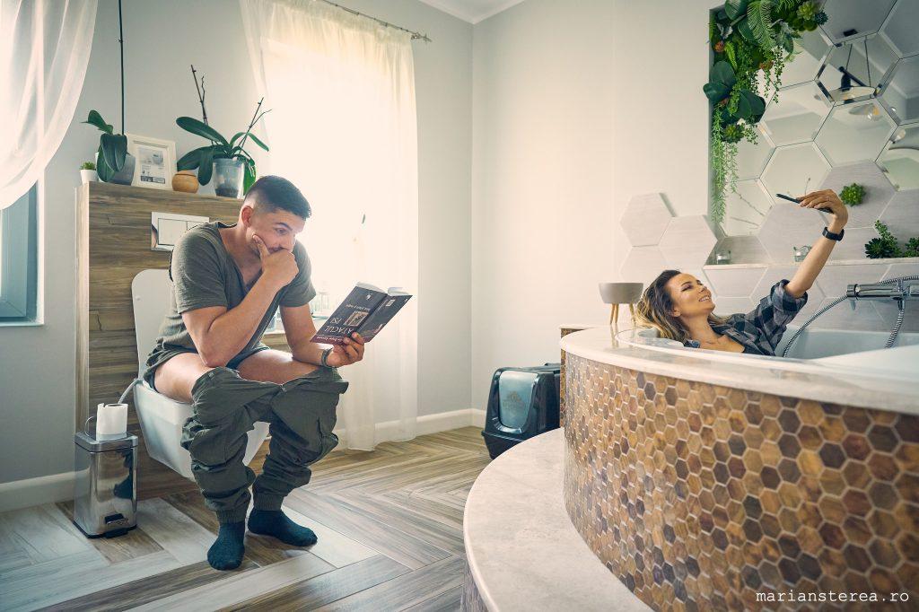 Sedinta foto lifestyle in izolare