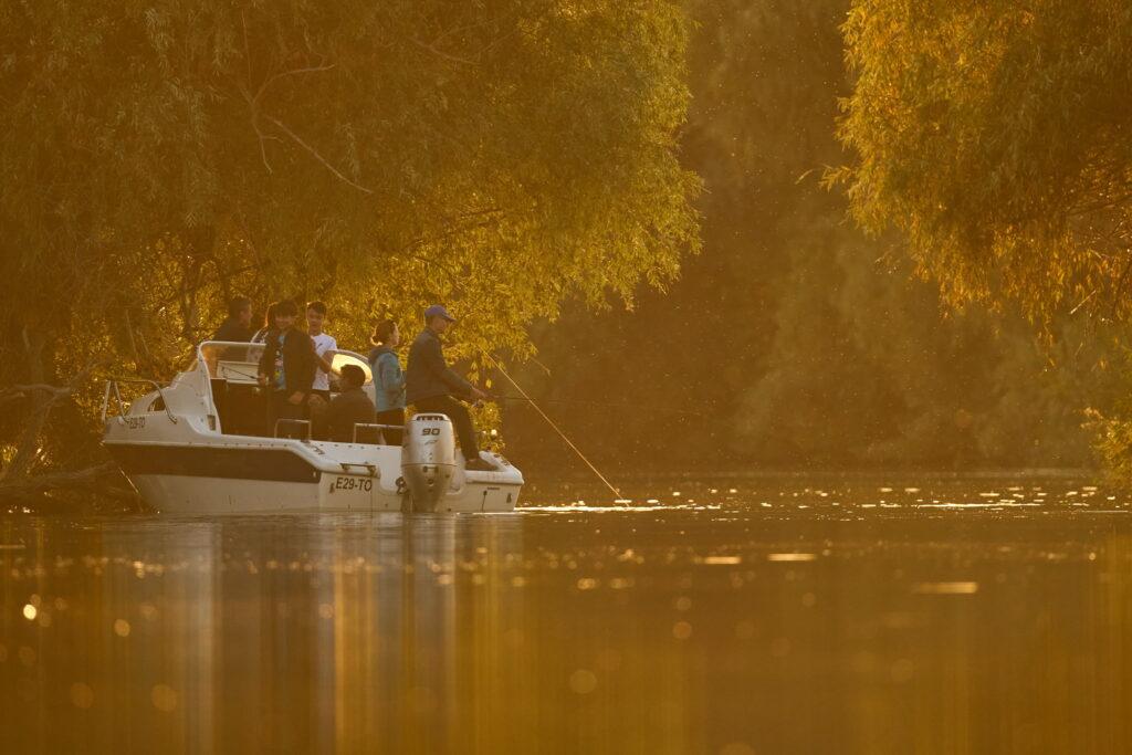 Barca in Delta Dunarii